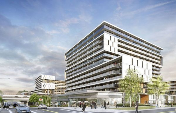 The Yorkdale Condos Exterior Rendering