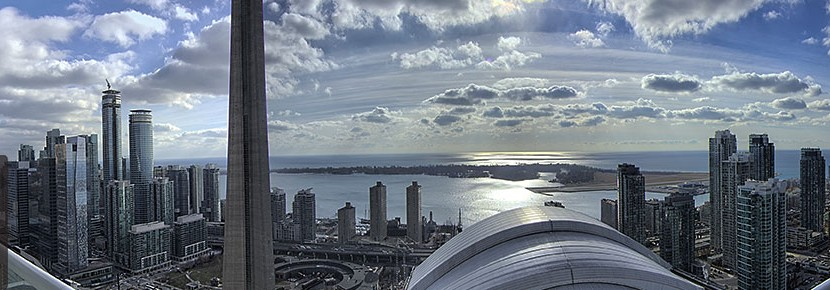 Toronto Downtown Condo View 830x290