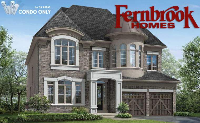 fernbrook kitchener detached house floor plans