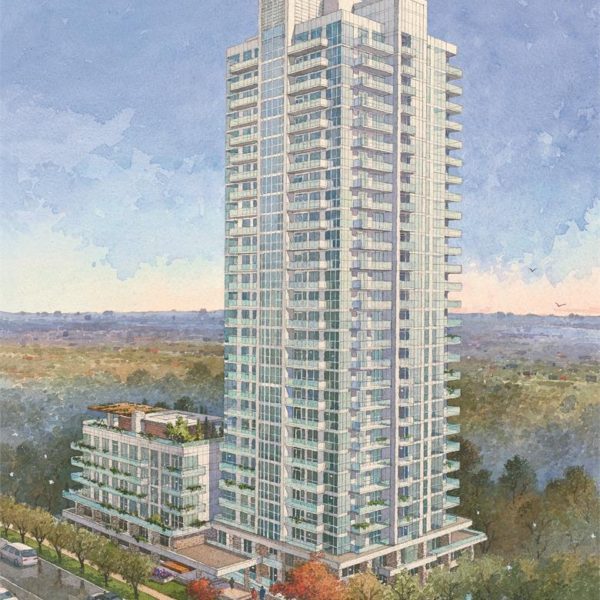 The Ravine Condo Illustration