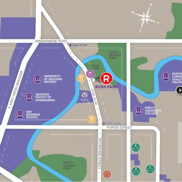 Ross Park Condos Site Map