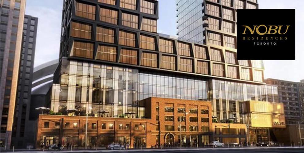 Nobu Residences Downtown Toronto VIP Access