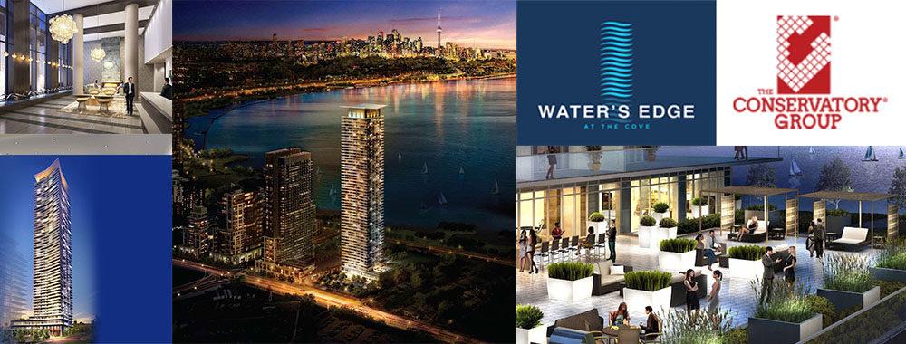 waters edge condos toronto new condos