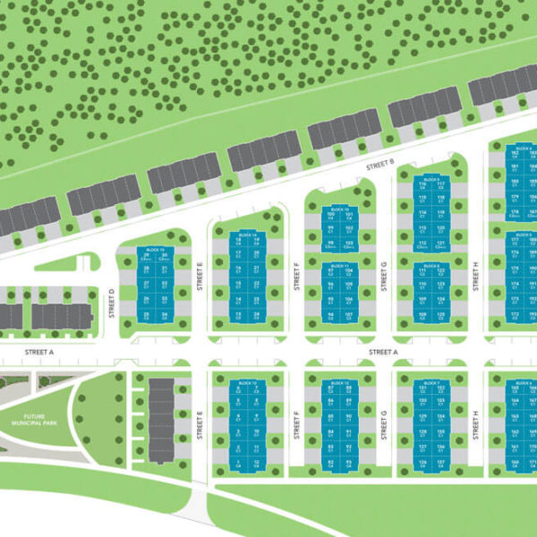 WOODBRIDGE PARK TOWNHOMES SITE PLAN