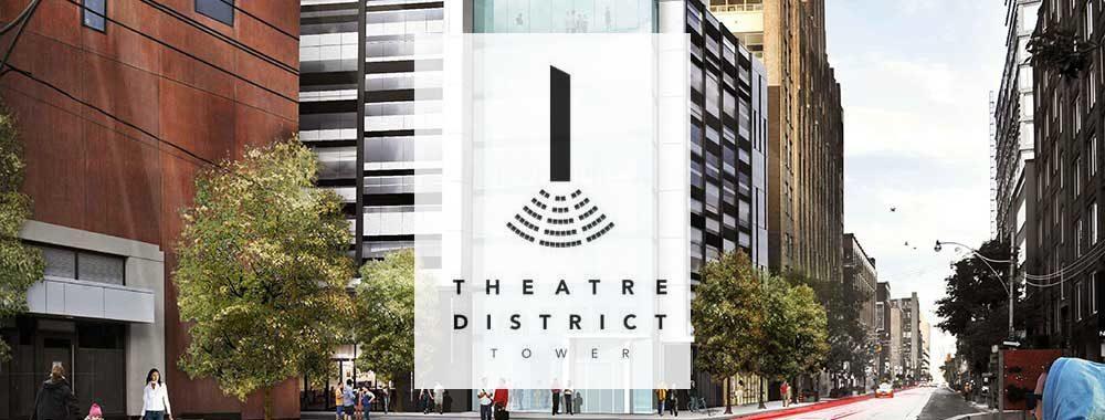 Theater district vip condo pre construction