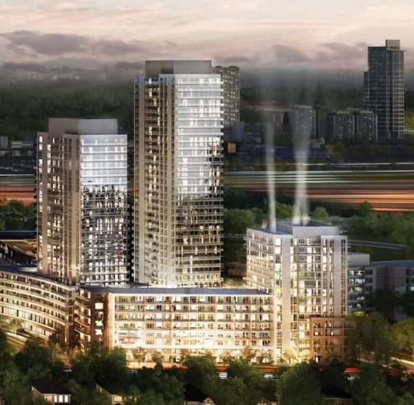 condo Lumina North York floor plans