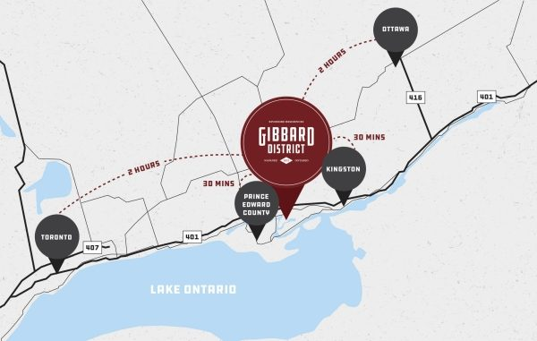 Gibbard district floor plan napanee