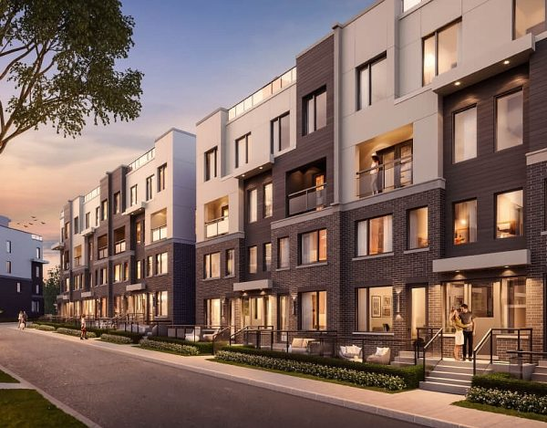 luxury Mississauga townhouse pre construction