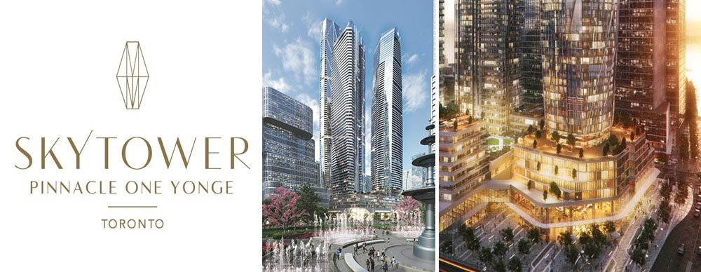 SkyTower at Pinnacle One Yonge condos in Toronto