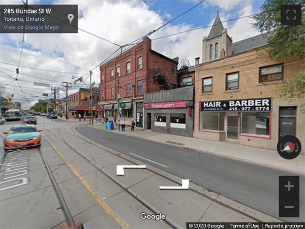 Artistry Condos 292 Dundas Street West street view