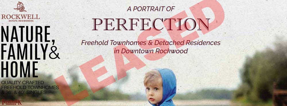 rockwell estate residences freehold townhomes LEASED