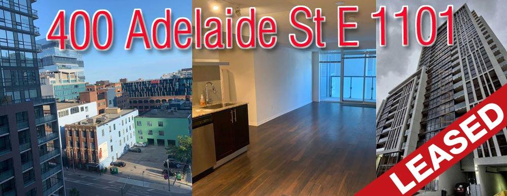 400 Adelaide Street East unit 1101