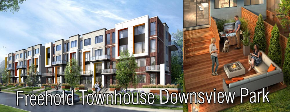 Freehold Townhouse Downsview Park