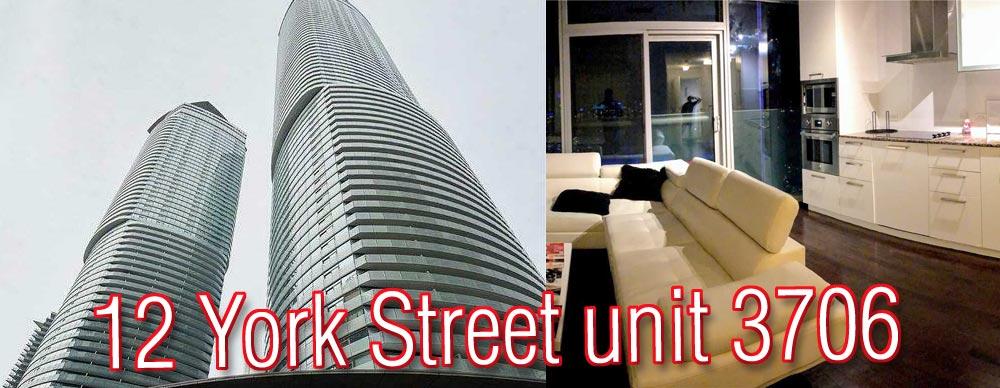 12 York Street unit 3706 Toronto