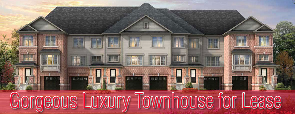 Gorgeous Luxury Townhouse with Basement for Lease in Cambridge Ontario