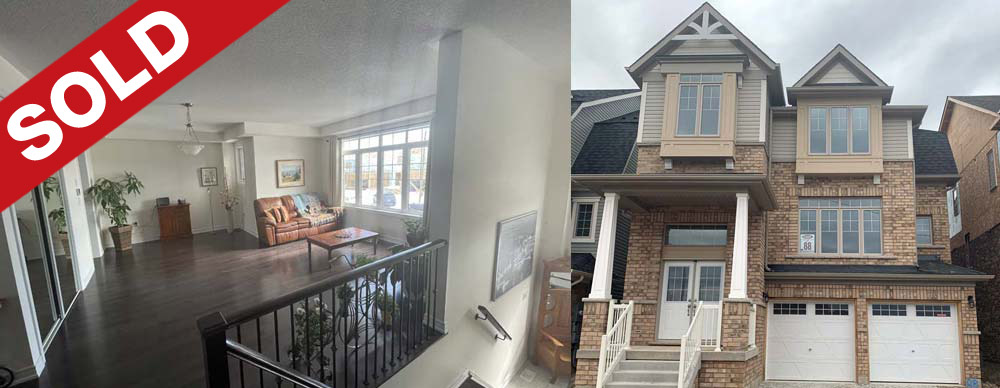 Sold 244 Edgar Bonner Avenue, Guelph, Ontario